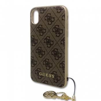 Guess 4G Charms kryt pro iPhone Xs / X