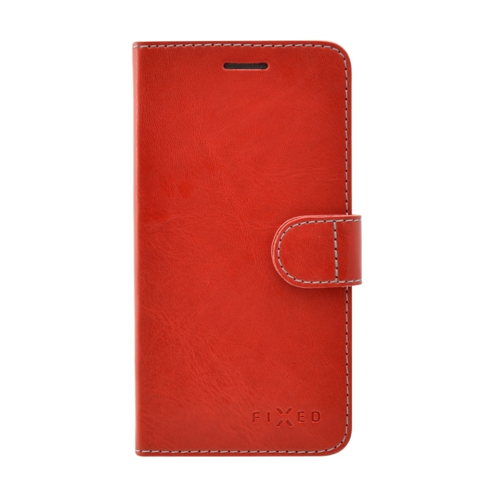 Fixed Fit Booktype Case for iPhone 7 - red