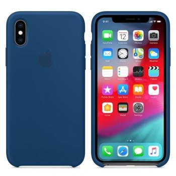 Apple iPhone Xs Silicone Case - podvečerně modrý MTF92FE/A