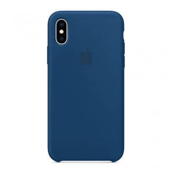 Apple iPhone Xs Silicone Case - podvečerně modrý MTF92FE/A