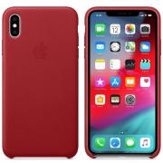 Apple kožený kryt na iPhone Xs Max - červený MRWQ2ZM/A