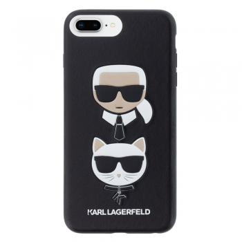 Karl Lagerfeld & Choupette Ikonik Hard Case for iPhone 8 Plus