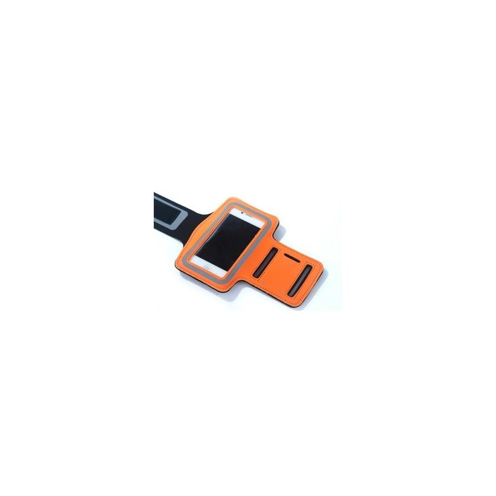 Pouzdro ARMBAND pro iPhone 5/5S/5C/SE, Barva Oranžová