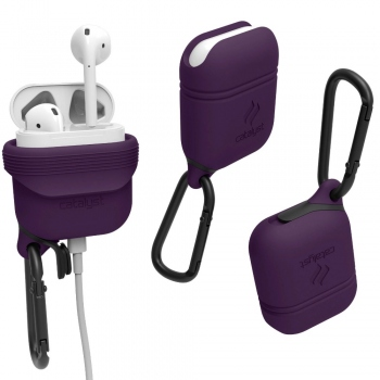 Catalyst Waterproof AirPods Case - deep plum