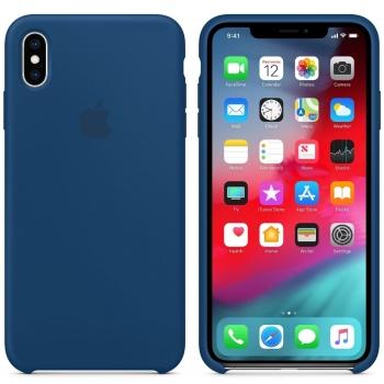 Apple iPhone Xs Max Silicone Case - Blue Horizon MTFE2FE/A