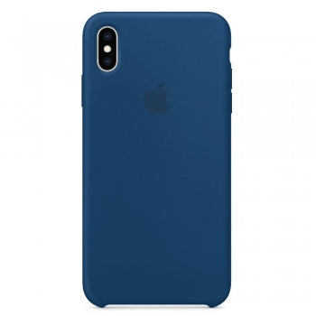 Apple iPhone Xs Max Silicone Case - Blue Horizon MTFE2FE/A