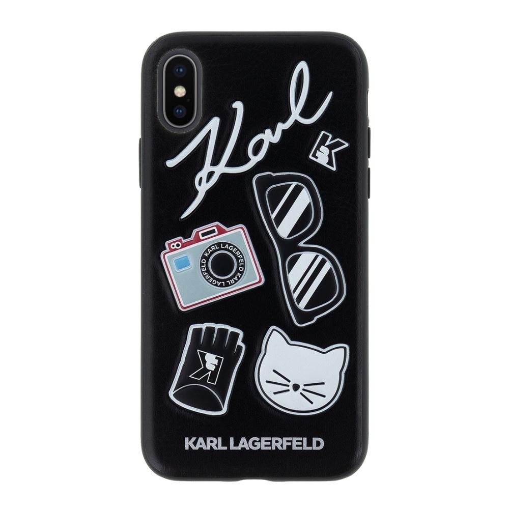 Karl Lagerfeld K/Klassik Pins kryt pro iPhone Xs / X