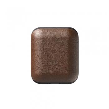 Nomad Leather Case - pouzdro pro AirPods hnědá kůže