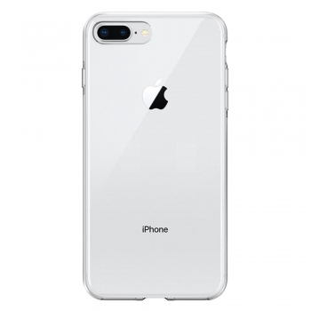 Swissten Clear Jelly průhledný kryt pro iPhone 8 Plus / 7 Plus
