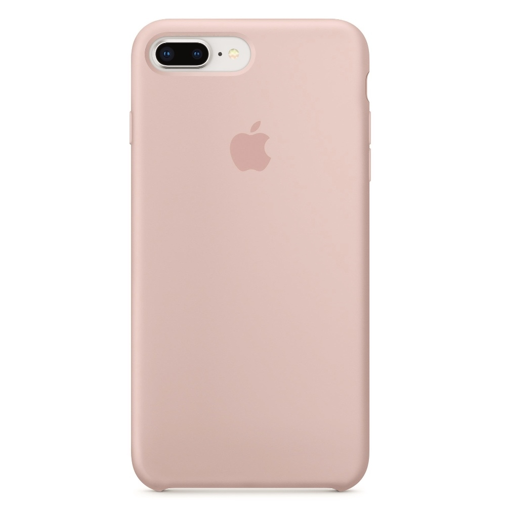 Apple iPhone 8 Plus Silicone Case - pink sand