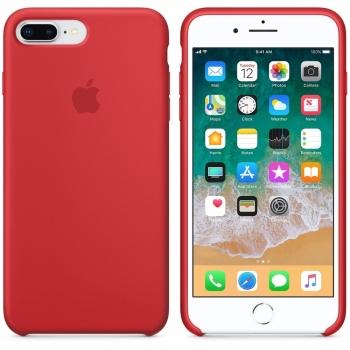 Apple iPhone 8 Plus/ 7 Plus Silicone Case - červené MMQV2ZM/A
