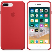 Apple iPhone 8 Plus/ 7 Plus Silicone Case - červené MMQV2ZM/A