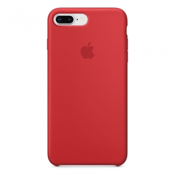 Apple iPhone 8 Plus/ 7 Plus Silicone Case - červené