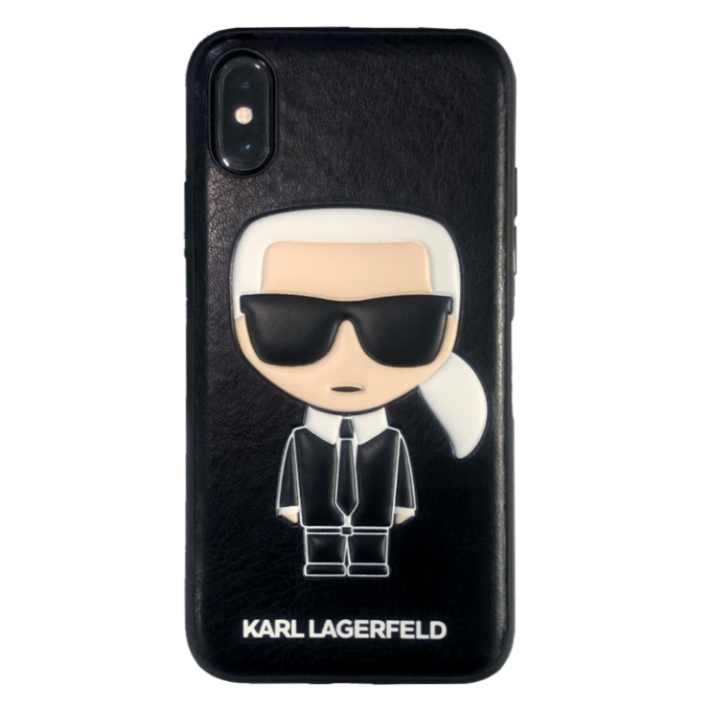 Karl Lagerfeld Ikonik Case for iPhone Xs Max
