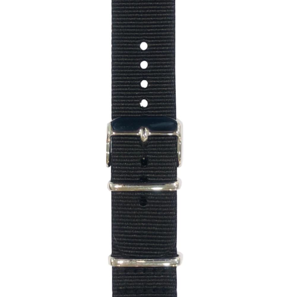 Trust Nylon Wrist Band řemínek pro Apple Watch (38-40mm) - černý