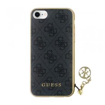 Guess 4G Charms kryt pro iPhone 8 / 7 - šedý