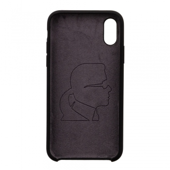 Karl Lagerfeld Ikonik Silicone Case - kryt na iPhone Xs / X
