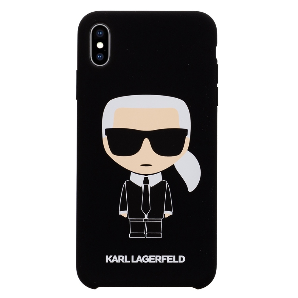 Karl Lagerfeld Ikonik Silicone Case - kryt na iPhone Xs Max