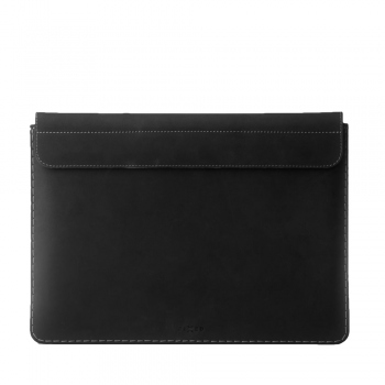 "Fixed Oxford Leather Sleeve for Apple MacBook 12"" FIXOX-MAC12-BK - black"