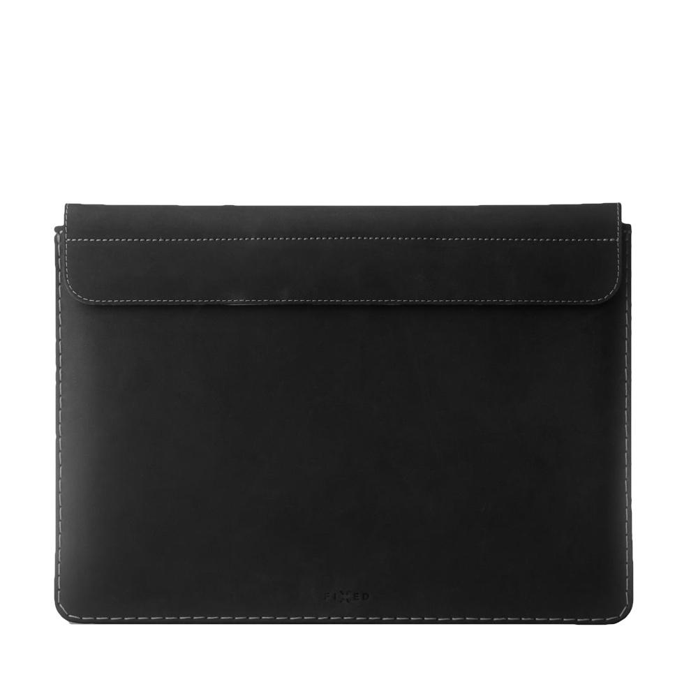 "Fixed Oxford Leather Sleeve for Apple MacBook 12"" FIXOX-MAC12-BK - black"