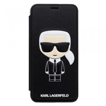 Karl Lagerfeld Ikonik Book pouzdro pro iPhone Xr