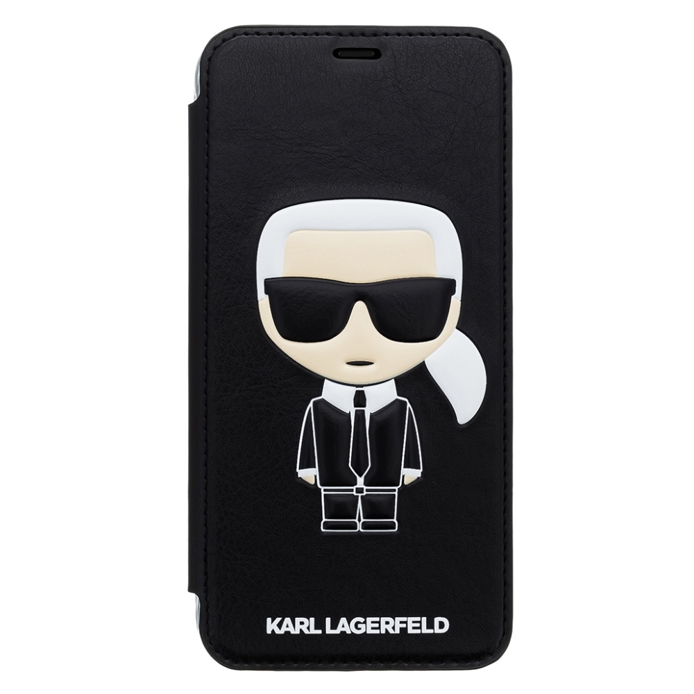 Karl Lagerfeld Iconic Book case for iPhone Xs Max