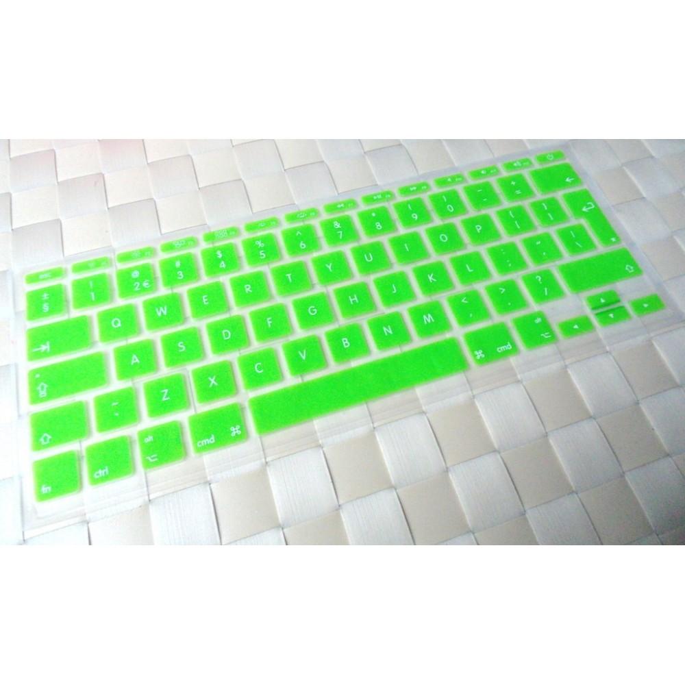 """Barevný kryt klávesnice pro Macbook Air 11"""", Barva Zelená"""