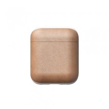 Nomad Leather Case - pouzdro pro AirPods přírodní kůže