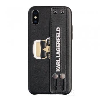 Karl Lagerfeld Sneaky Karl Strap kryt na iPhone Xs / X