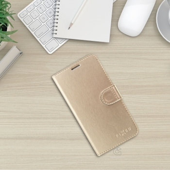 Fixed Fit Shine pouzdro pro iPhone 8 / 7 - zlaté