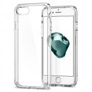 Spigen Ultra Hybrid 2 kryt pro iPhone SE / 8 / 7 - průhledný