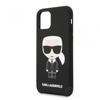 Karl Lagerfeld Ikonik Silicone Case iPhone 11 Pro Max - černý