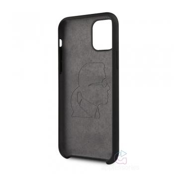 Karl Lagerfeld Ikonik Silicone Case iPhone 11 - černé