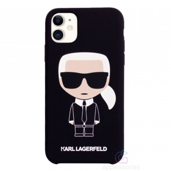 Karl Lagerfeld Ikonik Silicone Case iPhone 11
