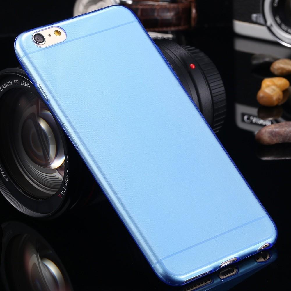 Pouzdro Jelly Case iPhone 6/6S FITTY, Modrá