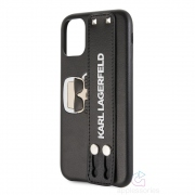 Karl Lagerfeld Sneaky Strap Hard Case for iPhone 11
