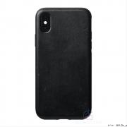 Nomad Rugged Leather kryt pro iPhone Xs / X - černý