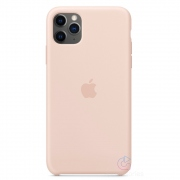 Apple silikonový kryt pro iPhone 11 Pro Max - pískově růžové