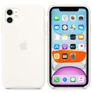 Apple silikonový kryt na iPhone 11 - bílý