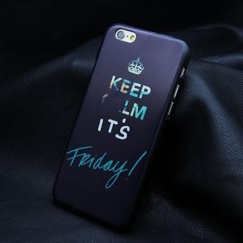 KEEP CALM Hard Case iPhone 6/6S