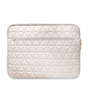 "Guess Quilted pouzdro pro notebook 13"" - béžové"
