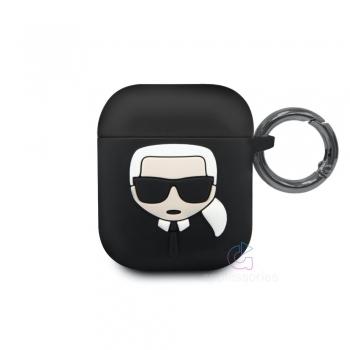 Karl Lagerfeld silikonové pouzdro pro AirPods