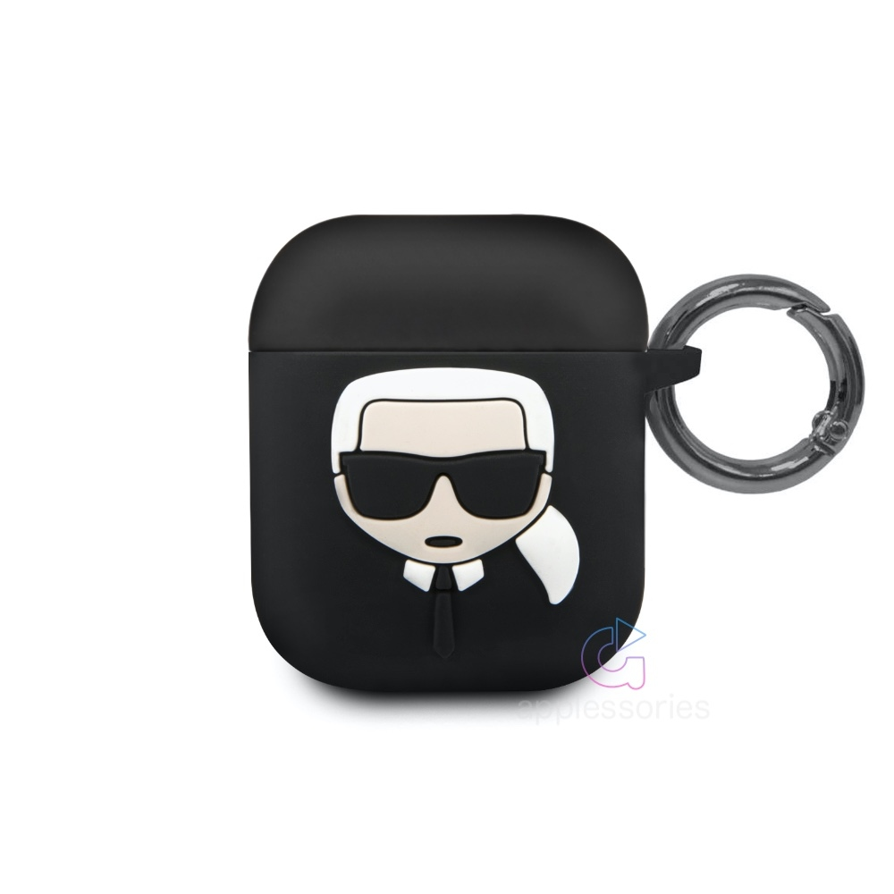 Karl Lagerfeld Silicone Case for AirPods