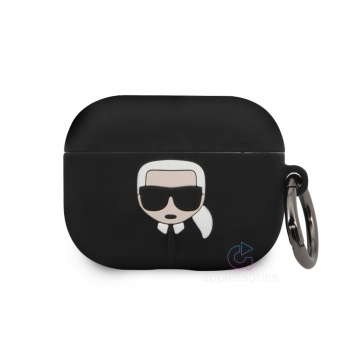 Karl Lagerfeld Silicone Case for AirPods Pro