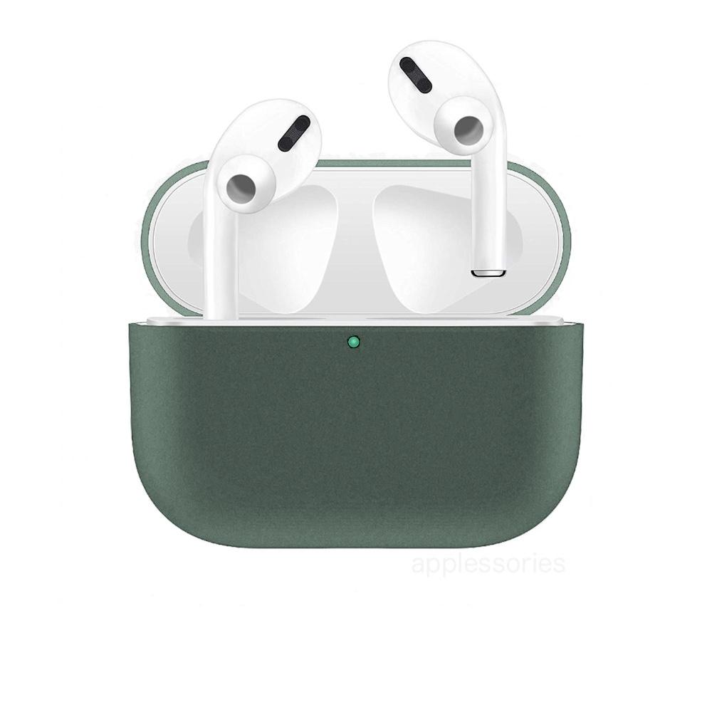 Coteetci silikonové pouzdro pro AirPods Pro - zelené