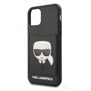Karl Lagerfeld Ikonik CardSlot Case for iPhone 11