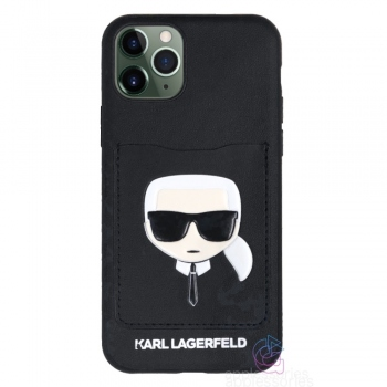 Karl Lagerfeld Ikonik CardSlot Case for iPhone 11 Pro Max