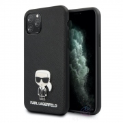 Karl Lagerfeld Ikonik Saffiano Case for iPhone 11 Pro Max