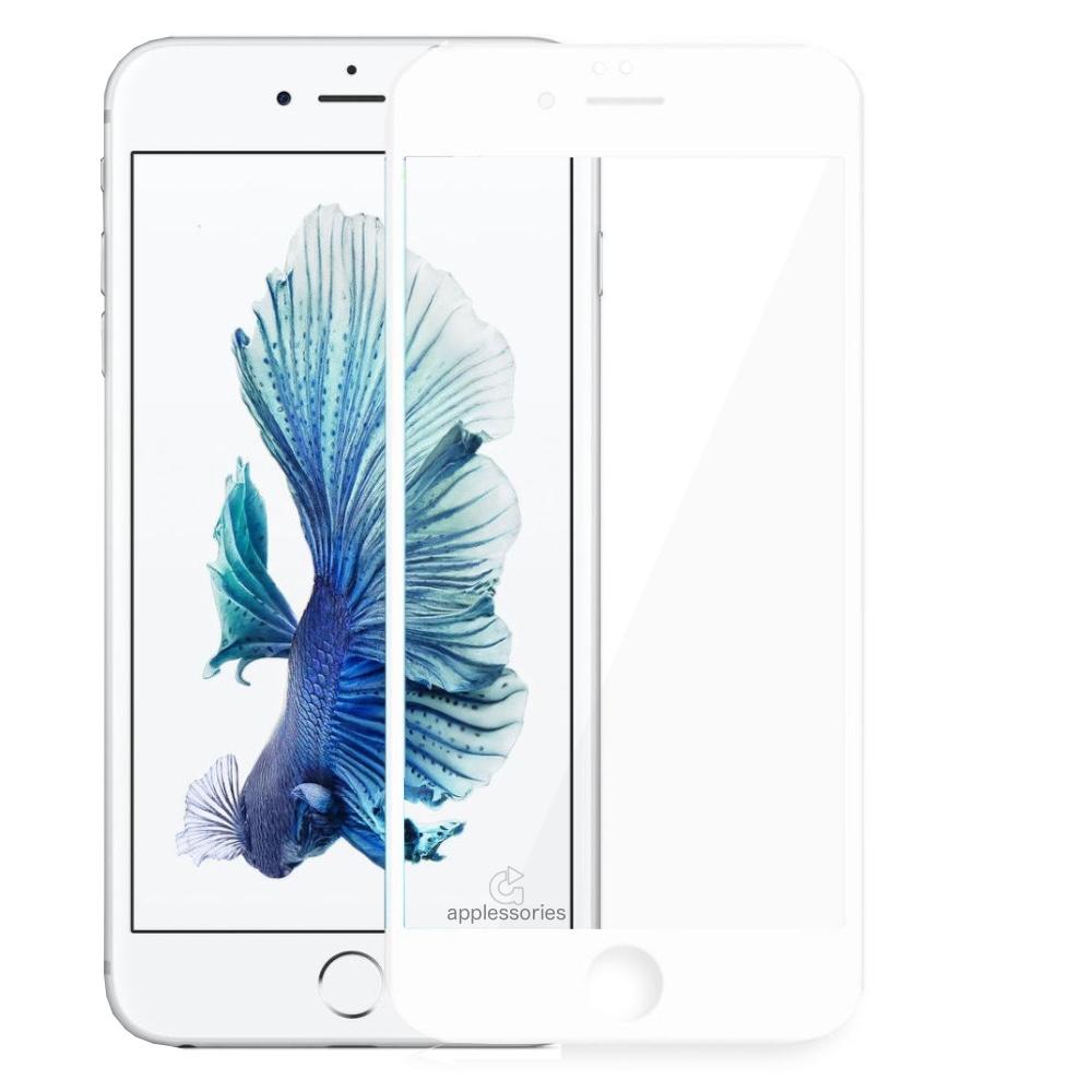 RhinoTech 2 3D tvrzené sklo pro iPhone 6s Plus / 6 Plus - bílé