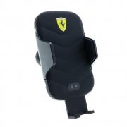 Ferrari držák do ventilačního otvoru s bezdrátovým nabíjením - černý